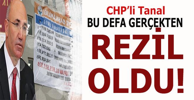 CHP'li Mahmut Tanal bu defa gerçekten rezil oldu!