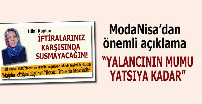 ModaNisa'dan önemli açıklama!