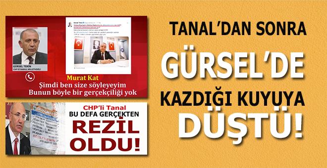 CHP'li Tanal'dan sonra, Gürsel'de kazdığı kuyuya düştü!