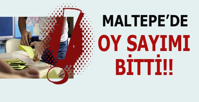 Maltepe'de oyların sayımı bitti!