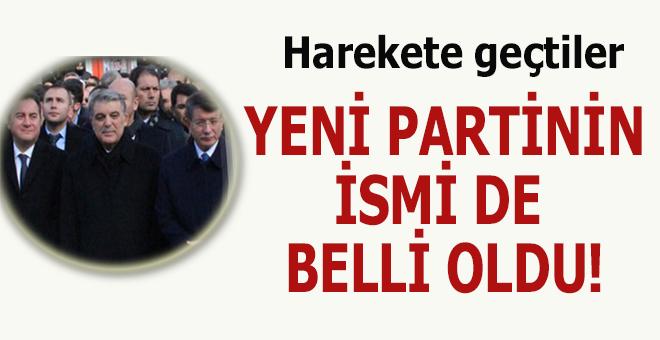 """Ak Parti'nin içindeki """"Truva atı"""" hareket geçti; Yeni Partinin ismi de belli oldu!"""