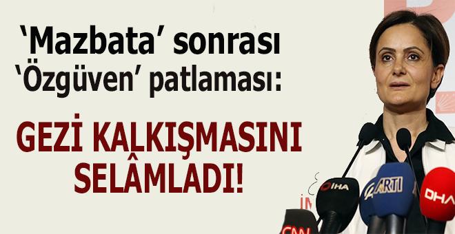 """Mazbata sonrası """"özgüven"""" patlaması; Gezi kalkışmasına gönderme yaptı!"""