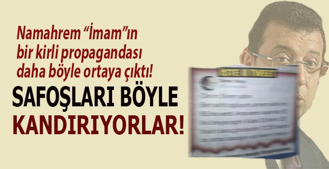 """Namahrem """"imam"""", safoşları böyle kandırıyor!"""