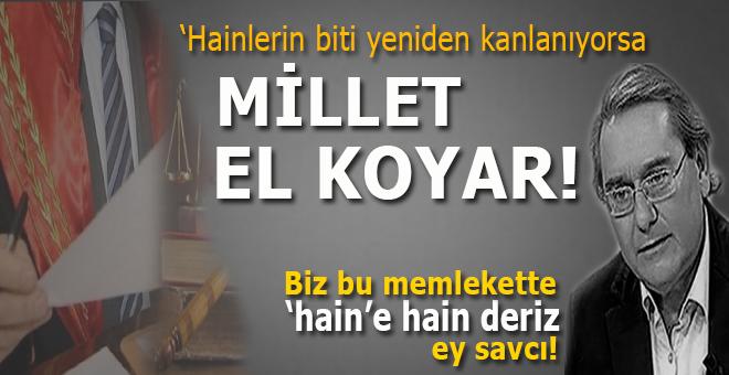 """Ardan Zentürk: """"Hainlerin biti yeniden kanlanıyorsa, söz milletindir, karşısında durulamaz!"""""""