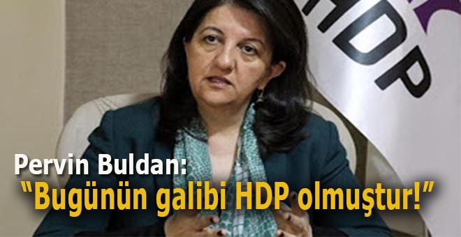 """HDP Eş Genel Başkanı Pervin Buldan: """"Bu günün galibi HDP olmuştur!"""""""
