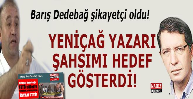"""15 Temmuz darbesine direnen önemli isimlerden Barış Dedebağ: """"Şahsıma iftira ve hakaret yapılıyor!"""""""