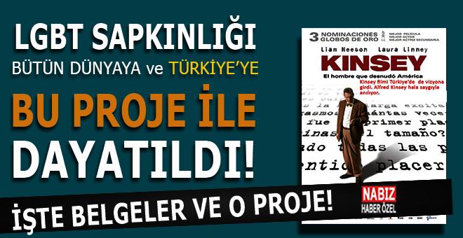 LGBT sapkınlığı Türkiye'ye bu proje ile dayatıldı!