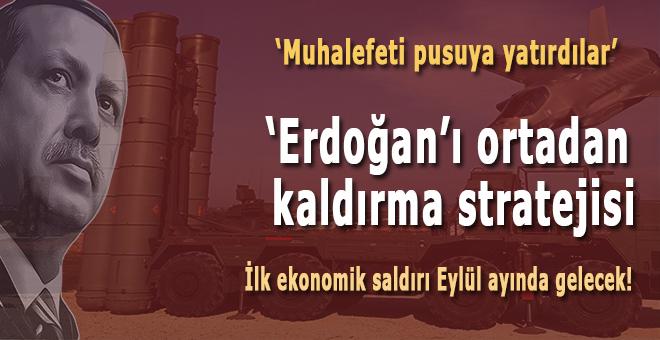 """""""Erdoğan'ı ortadan kaldırma stratejisi... """""""