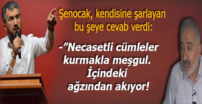 İhsan Şenocak'tan kendisine şarlayan Mustafa İslamoğlu sahte isimli pisliğe cevab verdi!
