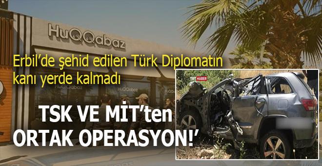 TSK ve MİT'ten ortak operasyon; Erbil saldırısının planlayıcıları vuruldu!