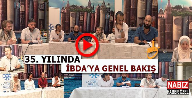 Akademya'dan 35. Yılında İbda'ya Genel Bakış özel programı TYB'de yapıldı!
