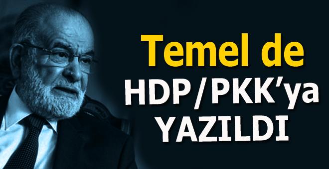 """Temel Karamollaoğlu'da belediyeleri """"PKK karargahına çeviren"""" HDP'ye yazıldı!"""