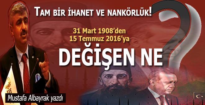 Mustafa Albayrak: Devletin yıkılması için yapılması gereken ne kadar hata varsa hepsini yaptılar!