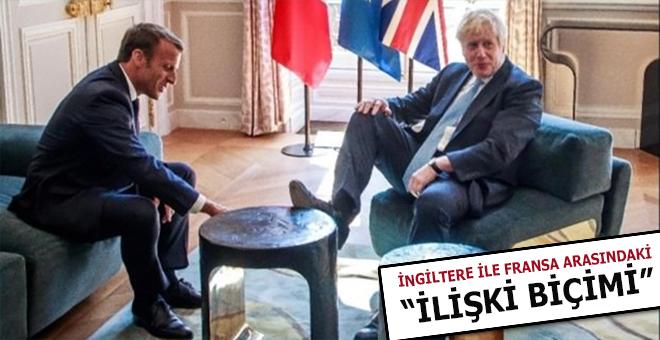 İngiltere Başbakan'ı Boris'in küstahlığı dünyanın dikkatini çekti!