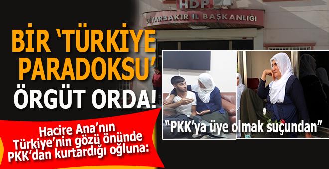 """Hacire Anne'nin PKK'dan kurtardığı oğluna; """"PKK terör örgütüne üye olmak""""tan..."""