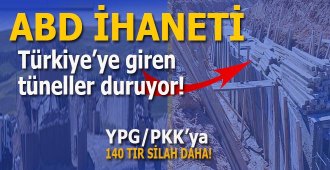 ABD ihaneti sürüyor; Türkiye'ye giren tüneller fotoğraflandı!