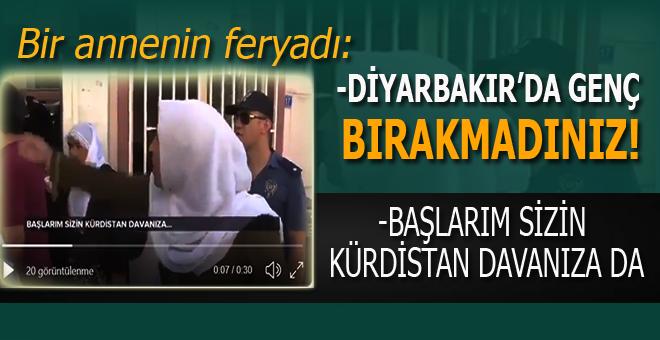 """HDP'ye böyle seslendi; -""""Başlarım sizin Kürdistan'ınıza da!"""""""