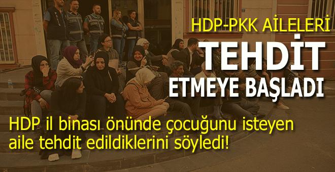 HDP il binası önünde oturan aile tehdit edildiğini söyledi!
