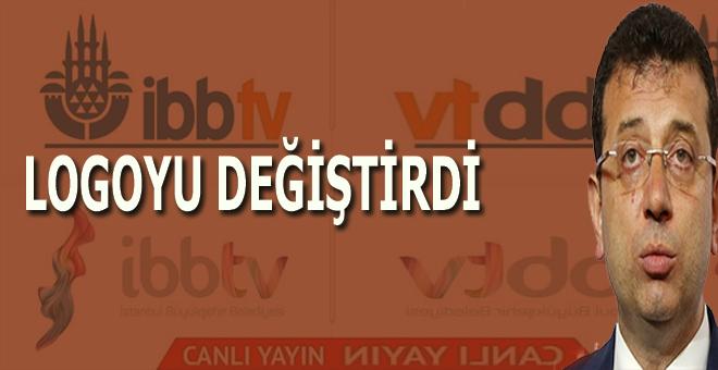 İBB TV'nin logosunda bulunan camiyi kaldırdı!