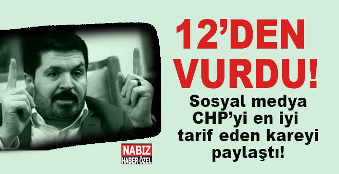 Savcı Sayan yine 12'den vurdu; CHP ve Ak Parti arasındaki fark bu resimde!