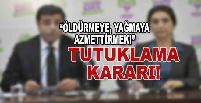 Demirtaş'a yeni tutuklama kararı!