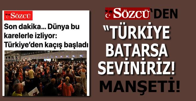 """Batan İngiliz firması, gidenler İngiliz vatandaşı, haberi """"Türkiye batıyor"""" şeklinde sunan """"Türk""""(!) gazetesi!"""