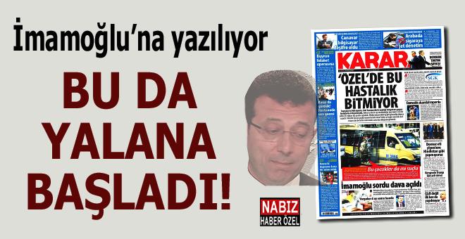 Karar gazetesi de yalan haber yapmaya başladı!