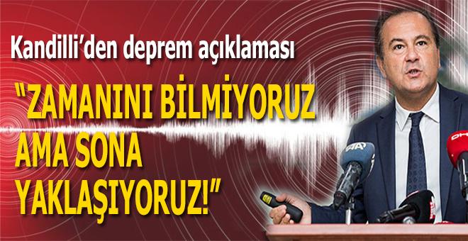 """Kandilli'den İstanbul depremi açıklaması: """"Zamanını bilmiyoruz ama sona yaklaşıyoruz..."""""""