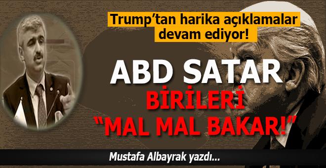 """Mustafa Albayrak yazdı; """"Mal mal bakanlar sadece onlar olmayacak..."""""""