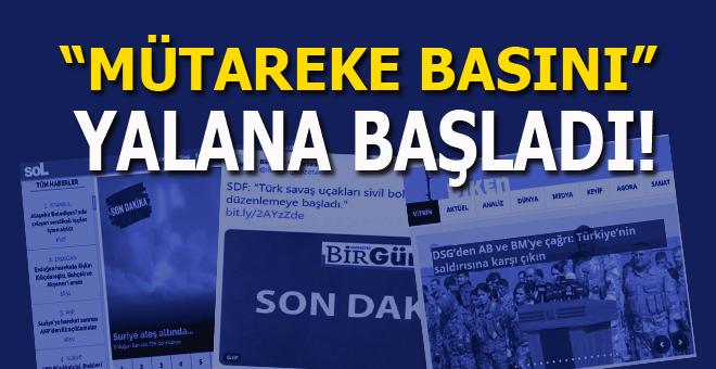 Barış Pınarı Harekatı'nı skandal manşetlerle duyurdular!