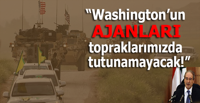 """Şam'dan Kürtlere """"Washington'ın ajanları"""" cevabı!"""