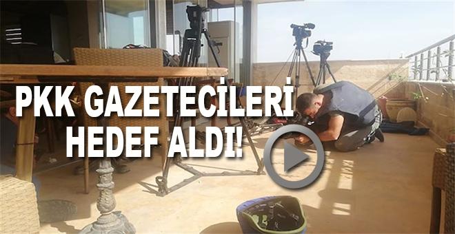 PKK gazetecileri hedef aldı!