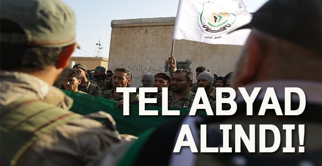 Tel Abyad'ın tamamı PKK/YPG'li teröristlerden temizlendi