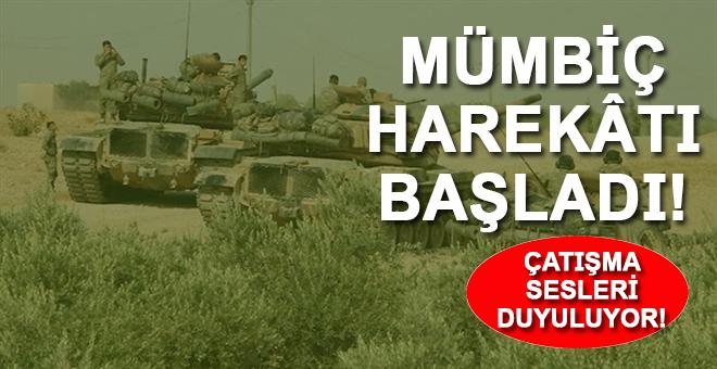 Türk tankları ve MSO ordusu birlikleri, Mümbiç'e doğru ilerlemeye başladı!
