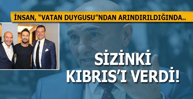 """Skandal; CHP'li Tunç Soyer, yavru vatan Kıbrıs'ı """"verdi..."""""""