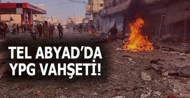 Tel Abyad'da pazar yerine vahşi saldırı; onlarca sivil öldü!