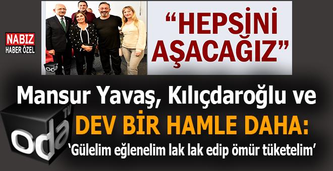 """Mansur Yavaş ve Kılıçdaroğlu'ndan dev bir hamle daha; """"Gülmeye ihtiyacımız vardı, güldürdün bizi Cem!"""""""