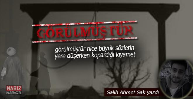 Salih Ahmet Sak yazdı; Görülmüştür...