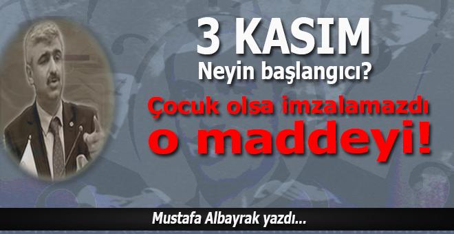 Mustafa Albayrak yazdı; ''Ben size asker sözü veriyorum asla böyle bir şey olmayacak''