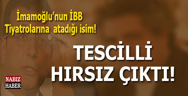 İmamoğlu'nun atadığı isim mahkeme kararıyla tescilli hırsız çıktı!