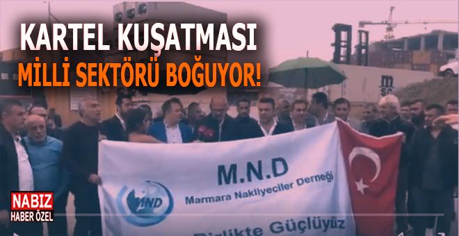 """Marmara Nakliyeciler Derneği: """"Artık bıçak kemiğe dayanmıştır..."""""""