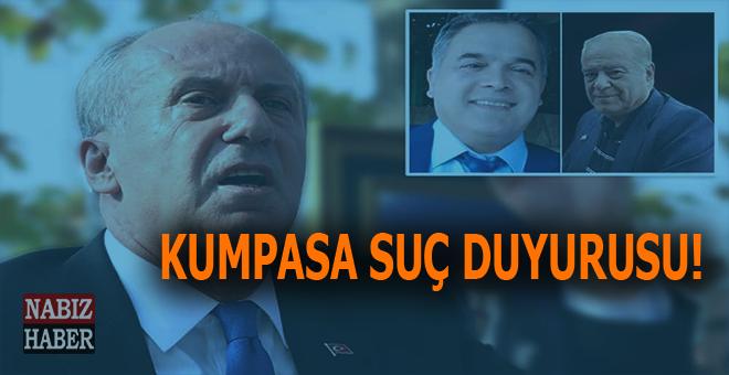 CHP kumpasına suç duyurusu!