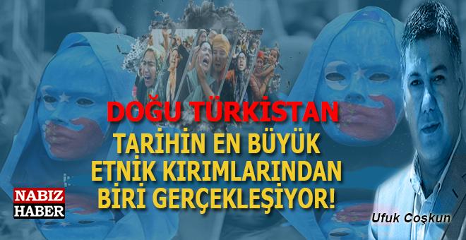 """Ufuk Coşkun: """"Doğu Türkistan'da tarihin en büyük etnik kıyımlarndan biri gerçekleşiyor..."""""""