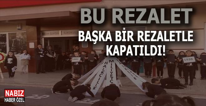 Öğrencilerin 10 Kasım'da Atatürk'e secde ettirildiği skandal böyle kapatıldı!