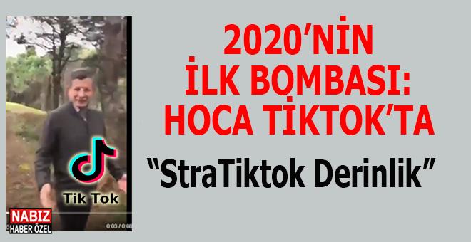 "Yorum yok; Ahmet Davutoğlu ""TikTok""ta..."
