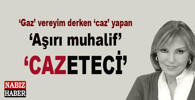 Aşırı muhalif gazeteci Ruhat Mengi yine rezil oldu!