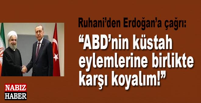 """İran'dan Türkiye'ye çağrı; """"ABD'nin küstah eylemlerine birlikte karşı koyalım!"""""""