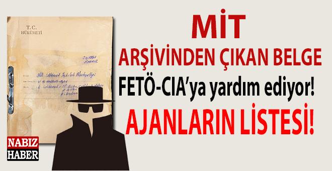 MİT arşivinden çıkan belgede FETÖ-CIA bağlantıları!