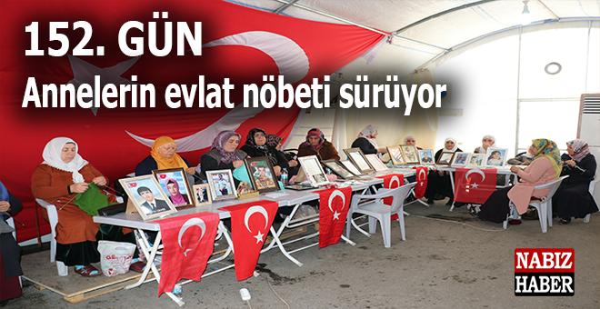 Diyarbakır Annelerinin evlat nöbeti sürüyor; 152'nci gün...