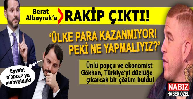 Berat Albayrak'a rakip çıktı; Popçu Gökhan Özoğuz'un bulduğu ekonomik çözüm sosyal medyayı salladı!